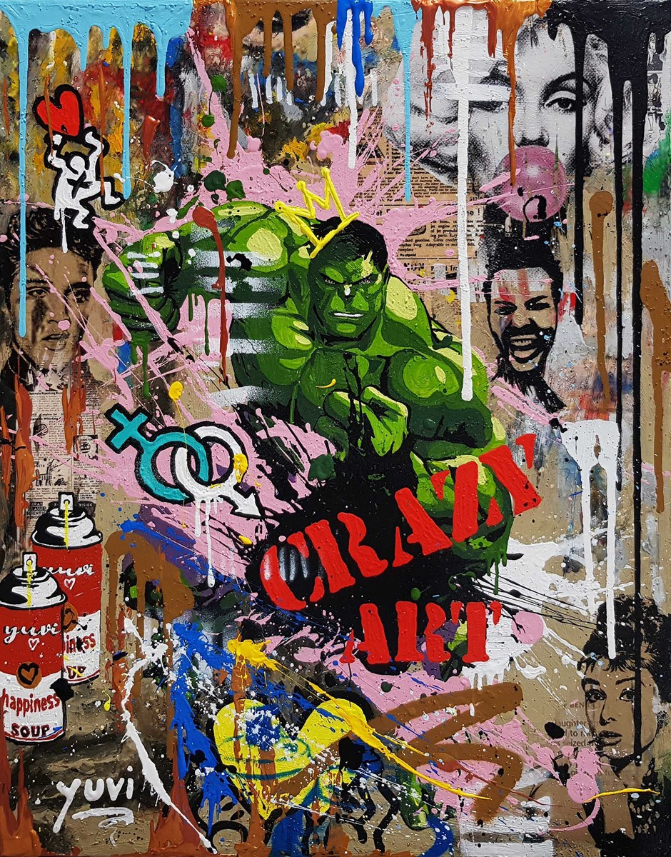Code Green by yuvi -  sized 16x20 inches. Available from Whitewall Galleries